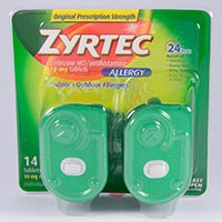 ZYRTEC (cetirizine HCl) 10mg tablets by McNeil