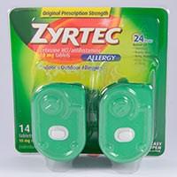 ZYRTEC (cetirizine HCl) 10mg tablets by McNeil