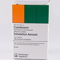 COMBIVENT (ipratropium bromide/albuterol [as sulfate]) metered dose inhaler by Boehringer Ingelheim