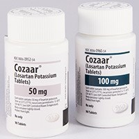 COZAAR (losartan potassium) 25mg, 50mg, 100mg tablets by Merck & Co.