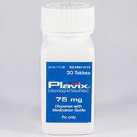 PLAVIX (clopidogrel [as bisulfate]) 75mg, 300mg tablets by BMS/Sanofi