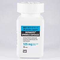 divalproex sodium 125mg cap