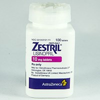 ZESTRIL (lisinopril) 2.5mg, 5mg, 10mg, 20mg, 30mg, 40mg tablets by AstraZeneca