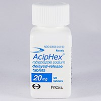 ACIPHEX (rabeprazole sodium) 20mg delayed-release, e-c tablets by Eisai and Janssen