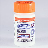 LAMICTAL XR (lamotrigine) 25mg, 50mg, 100mg, 200mg, 300mg ext-rel tablets by GlaxoSmithKline