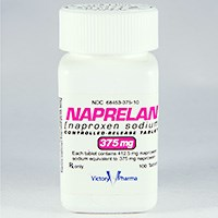 NAPRELAN (naproxen [as sodium]) 375mg, 500mg, 750mg controlled-release tablets by Shionogi
