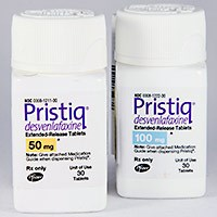 PRISTIQ (desvenlafaxine [as succinate]) 50mg, 100mg ext-rel tablets by Pfizer