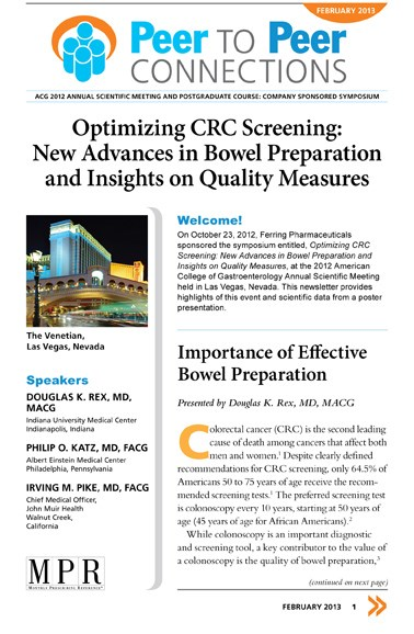 Optimizing CRC Screening: New Advances in Bowel Preparation and Insights on Quality Measures