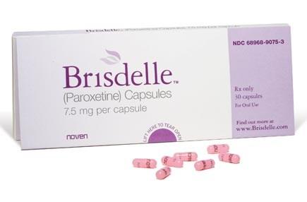 Brisdelle (paroxetine) capsules