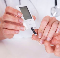 Nearly 200 Diabetes Control and Complications Trial participants were evaluated
