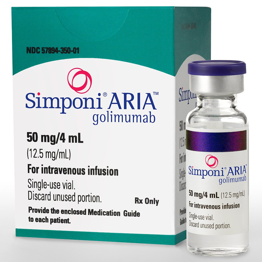 SIMPONI ARIA (golimumab) 50mg/4mL single-use vial