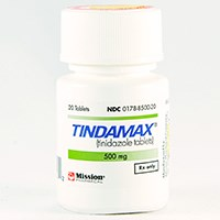 TINDAMAX (tinidazole) 500mg scored tablets