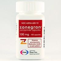 ZONEGRAN (zonisamide) 100mg capsules