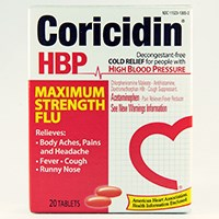 CORICIDIN HBP MAXIMUM STRENGTH FLU