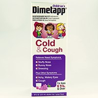 CHILDREN'S DIMETAPP COLD & COUGH (brompheniramine maleate /dextromethorphan HBr /phenylephrine HCl)