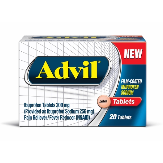 Advil (ibuprofen sodium) Film Coated Tablets