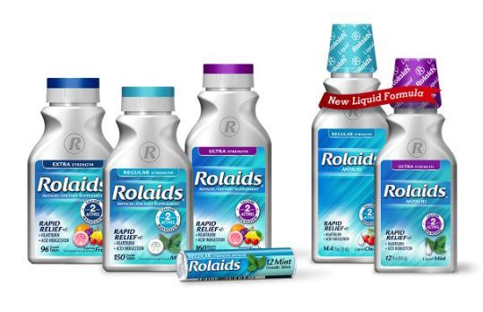 ROLAIDS (calcium carbonate and magnesium hydroxide)