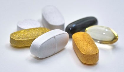 The most commonly reported ones were multivitamins, multiminerals, or both