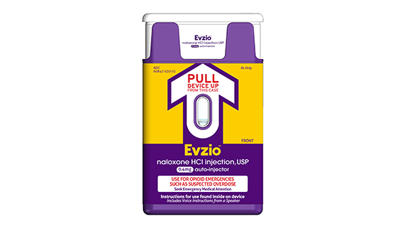 First Naloxone Product for Caregiver Administration