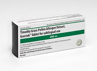 FDA Approves Timothy Grass Pollen SL Tab