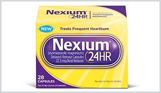 Nexium 24HR, New OTC Drug for Heartburn
