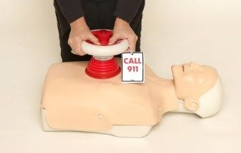 First Hands-Only CPR Device