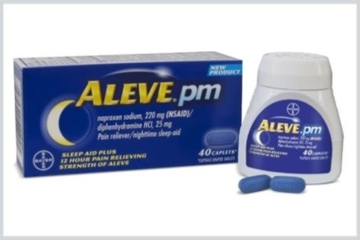Aleve PM Available for Overnight Pain Relief