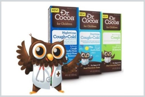 Chocolate-Flavored OTC Cough/Cold Products Launched