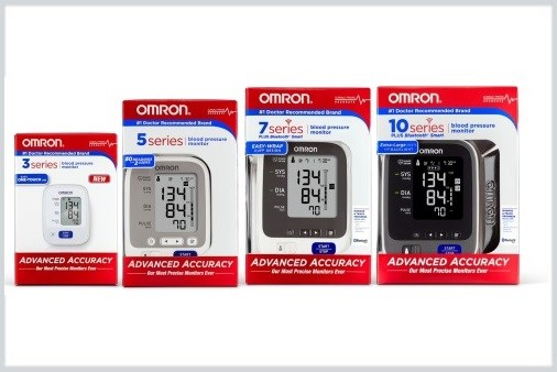Omron Launches New Line of Advanced BP Monitors