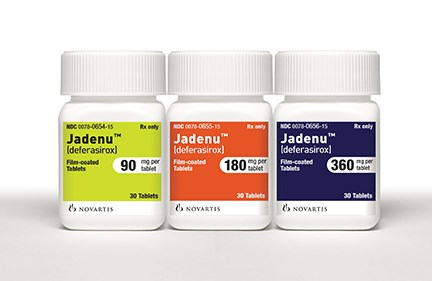 Jadenu Tablets Approved for Chronic Iron Overload