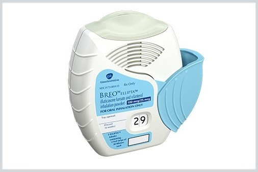 Breo Ellipta Inhaler Gains Expanded Indication