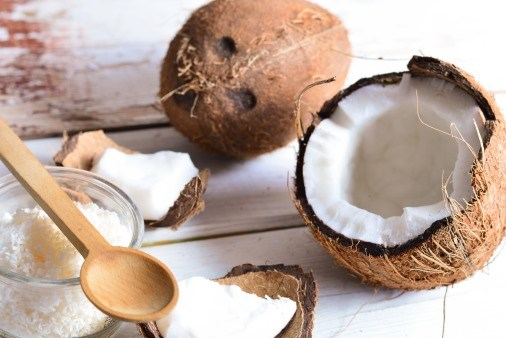 Coconut oil has increased levels of high-density 'good' cholesterol