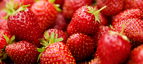 Increasing research has shown multiple benefits of anthocyanin — a main component of strawberries