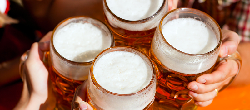 The researchers found a correlation between moderate drinking and slow HDL decline