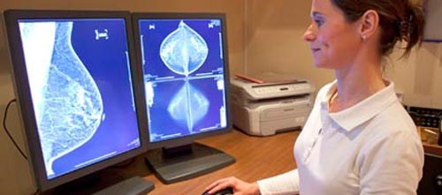 False-positive recall rate similar; findings in women with mammography-negative dense breasts