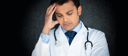 Physician burnout can contribute to failed relationships, substance abuse, suicidal ideation
