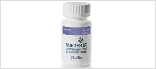The open-label, multicenter trial examined 367 patients receiving Nuedexta