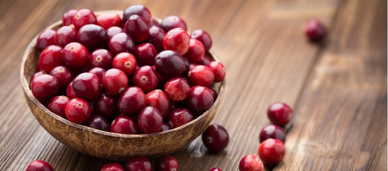 Cranberries and other fruits are a natural source of D-mannose