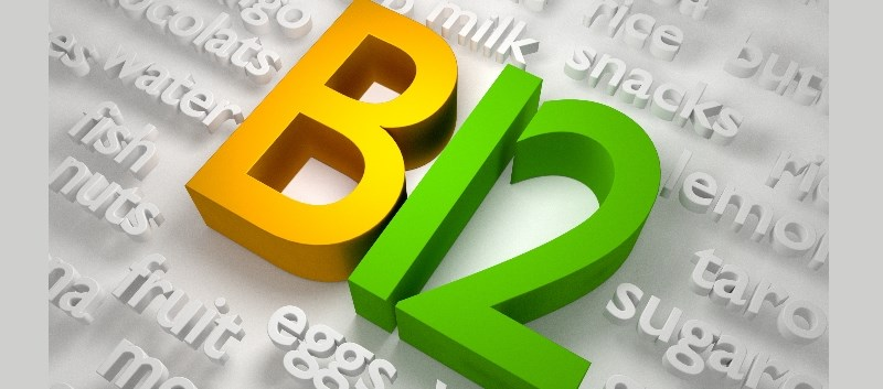Vitamin B12 is naturally found in animal products, including fish, meat, poultry, eggs and milk