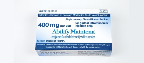 Abilify Maintena is an atypical antipsychotic indicated to treat schizophrenia and Tourette's disorder