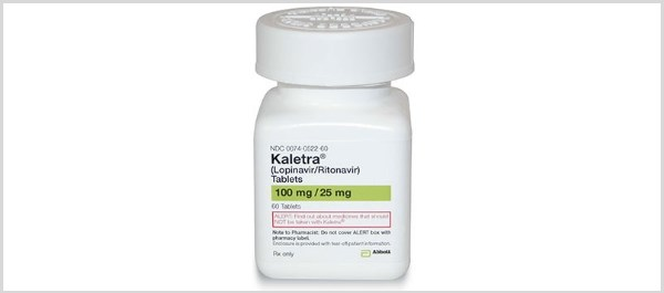 Kaletra is a HIV protease inhibitor, combining the antiviral drug lopinavir co-formulated with ritonavir