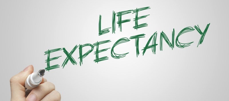 Life expectancy for the U.S. population in 2015 was 78.8 years, a decrease of 0.1 year from 2014