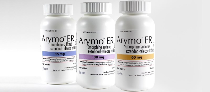 Replacing non-abuse-deterrent formulations of morphine with Arymo ER was investigated over a 5-year period