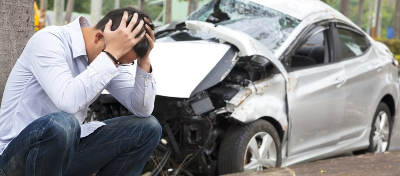 PTSD symptoms following motor vehicle collisions contribute to ongoing axial pain throughout the year following the accident.