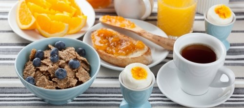 The researchers found that breakfast eaters are generally healthier than breakfast skippers