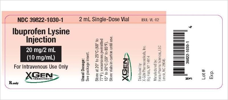 Ibuprofen Lysine Inj Recalled Due to Particulate Presence