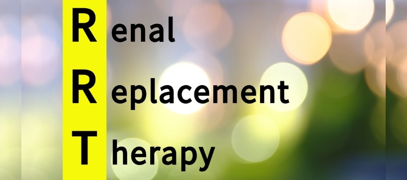Renal replacement therapy (RRT) impacts health-related quality of life