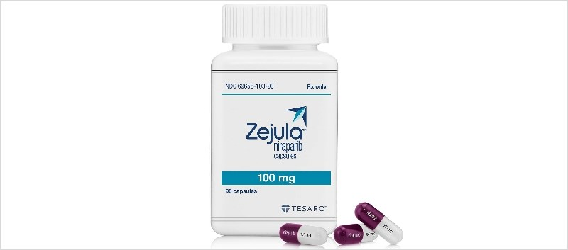 Zejula is available as 100mg strength capsules in 90-count bottles