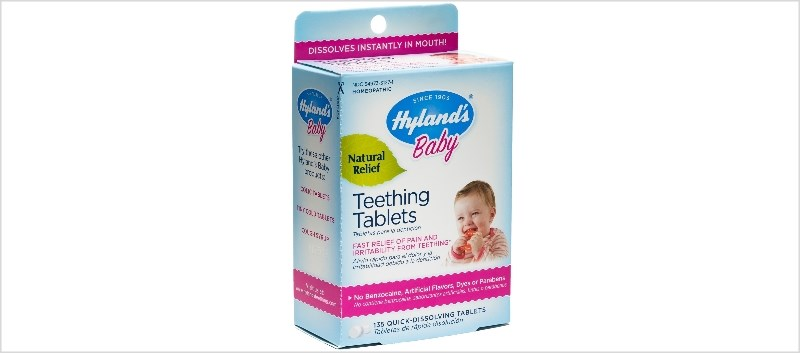 FDA: Hyland's Teething Tablets Recalled