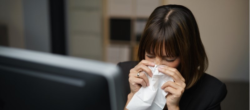 Uncontrolled Allergic Rhinitis Impacts Work Productivity